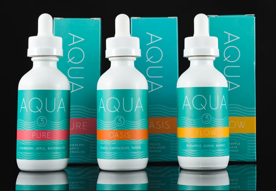 Aqua E-Juice at Vapor laze Omaha