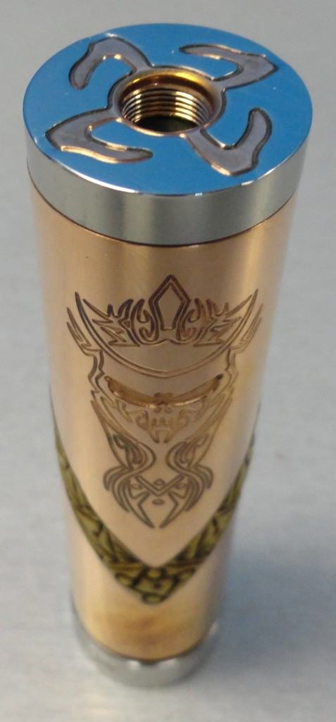 Authentic Akuma V Clay mech mod at Vapor Laze Omaha