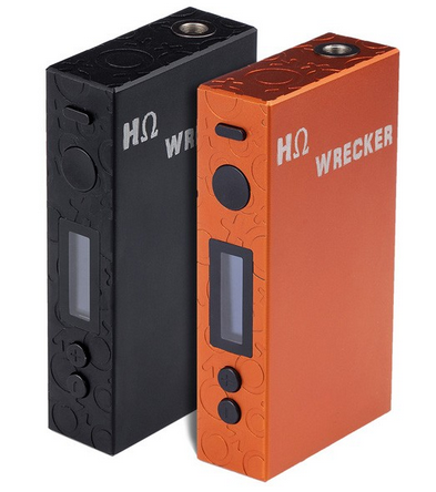 "HΩ Wrecker ""Hohm Wrecker"" 151W Temperature Control Box Mod at Vapor Laze"