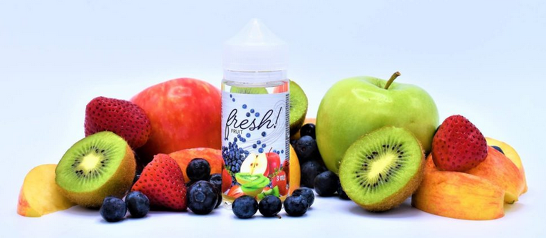 Fresh fruit is a fantastically fruity, amazingly accurate fruit blend at Vapor Laze Omaha, Nebraska